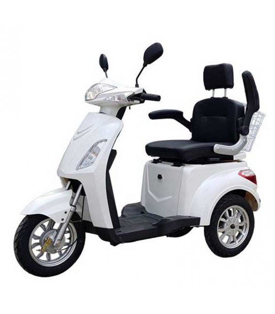 Elektromobil VITA CARE 1000, weiß, Seite