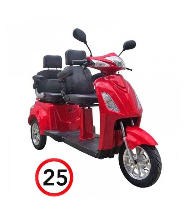 Elektromobil VITA CARE 2000, rot