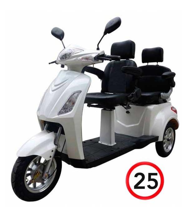 Elektromobil VITA CARE 2000, weiß, Front
