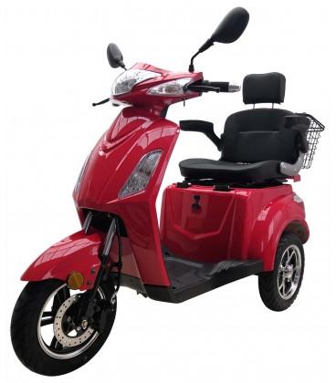 Seniorenmobil VITA CARE 1000 LI, 25 km/h, Lithium-Akku, rot